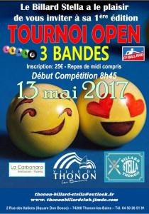 Open 3 bandes Thonon