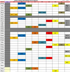 Calendrier 2017-2018-2