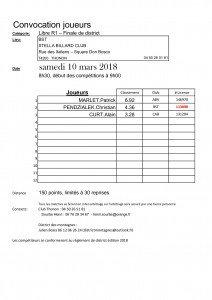 Convocation_Joueurs-LR1-finale_district-BST saison 2017 - 2018
