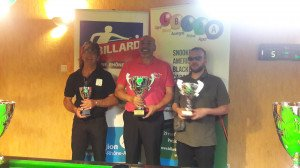 podium finale de ligue blackball mai 2018