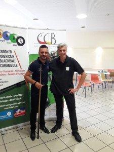 Christophe Lambert et Laurent Donato