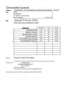 Convocation Joueurs-3BN3-3eme tour-CCB-poule B