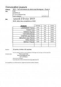 Convocation Joueurs-BR2-3eme tour-CAB-poule A